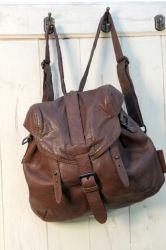 aunts and uncles Sugar Bowl Rucksack 2in1 Handtasche nut