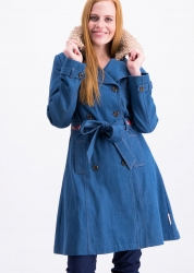 Blutsgeschwister Jacke tales of tennessee trench western denim