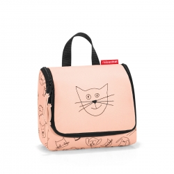 reisenthel kids toiletbag cats and dog rosa