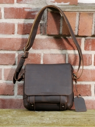aunts and uncles Megan Hunter Handbag M dark brown