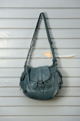 aunts and uncles Walnut Handbag L ocean