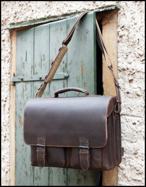 aunts and uncles big finn vintage brown aktentasche. Black Bedroom Furniture Sets. Home Design Ideas
