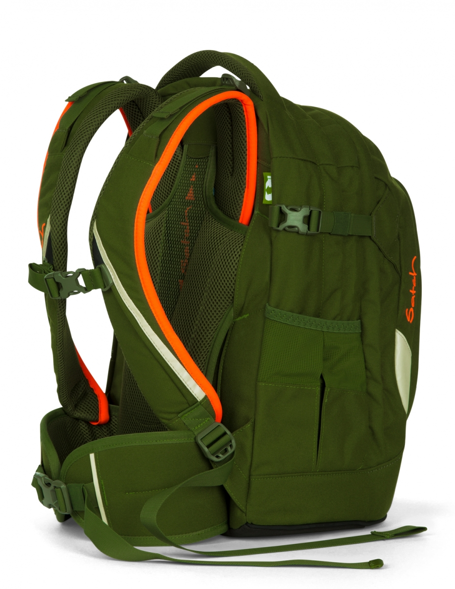 satch pack rucksack green phantom schulrucks cke. Black Bedroom Furniture Sets. Home Design Ideas