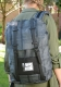 Herschel Rucksack Retreat Plaid Black