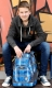 Coocazoo EvverClevver 2 Schulrucksack Hip To Be Square Blue