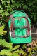 Satch Pack Rucksack Green Steel