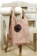 Oakwood Beuteltasche Ledertasche Shopping-Bag creme Smaller1